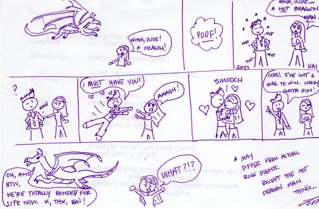 Laura's dragon comic